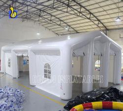 Weißes aufblasbares luftdichtes Hochzeitsfest-Zelt für Ereignis