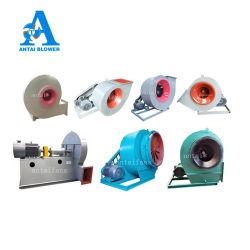 Aço carbono / Aço inoxidável/PP Alta pressão escape industriais centrífugos de ventilação de refrigeração eléctrica do ventilador do soprador para equipamento de fábrica