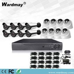 1080P de Uitrusting van het Toezicht van de Veiligheid van het Huis van het Systeem van de Camera van kabeltelevisie 16CH met Hybride DVR