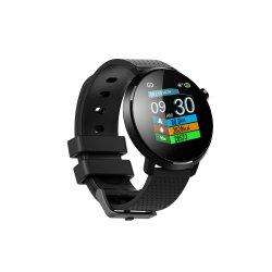 """Klassiek Horloge 1.3 van het Gezicht van het Horloge Androïde Slim """" IPS HD het Polshorloge van de Riem van het Silicone van het Comfort van de Monitor van de Bloeddruk van het Tarief van het Hart van het Scherm van de Aanraking"""