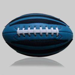 Ballon de Rugby de bleu et noir taille 5 billes de pied américain