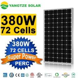 Yangtze Célula 72 380 Watts de energia solar fotovoltaica do módulo do painel