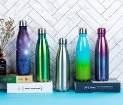 MehrfarbenEdelstahl 18/8 Isoliervakuumkolben-Wasser-Flasche