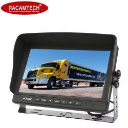 2 canales independientes de 9 pulgadas TFT LCD Vista trasera del camión de Bus de visión trasera del monitor de coche de seguridad