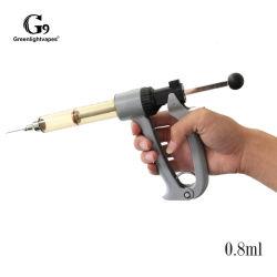 Pistola de enchimento do cartucho semiautomático Cdb Cartucho de óleo de máquina de enchimento do depósito de carrinhos de G9 25ml/50ml para cartucho 0.8ml