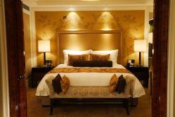Mobiliário de hospitalidade designs modernos quartos de estilo de hotel de luxo