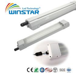 El tubo LED lineal Impermeable IP65 Tri-Proof Dispositivo de luz 18W 36W LED 50W luz Batten