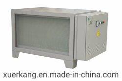Fornecedor de Xangai extractor de fumos para Star Restaurante Cozinha de eliminação de graxa com filtro electrostático