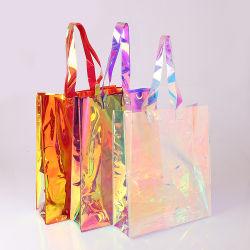 Design de luxe femmes Laser PVC imperméable/TPU épaule Sac fourre-tout cadeau promotionnel