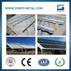 Оцинкованной стали продуктов солнечной энергии на монтажной структуры