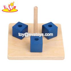 Qualität pädagogische hölzerne Montessori Säuglingsmaterialien für GroßhandelsW12f091