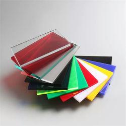 Tamanho personalizado transparente de cor clara extrusados/espelho fundido 100% virgem Decortive PMMA plástico acrílico/Plexiglass Board/folha
