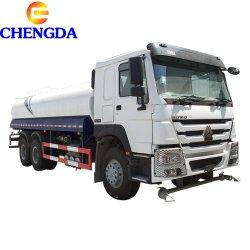 Sinotruck HOWO 4X2, 6X4 utilizado para la venta de camiones tanque de agua