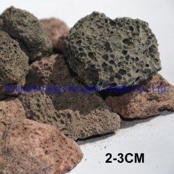 建築材料の自然な石造りの床タイルの敷石の花こう岩によって使用される溶岩の石