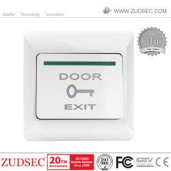 Momentánea liberación de la puerta Interruptor pulsador para el sistema de control de acceso