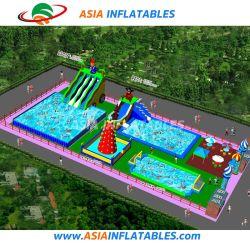 Nouvelle conception de l'eau gonflable Aire de Jeux Parc de loisirs piscine avec glissoire d'eau