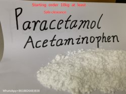 Zuivere Paracetamol USP Bp van 99% StandaardParacetamol