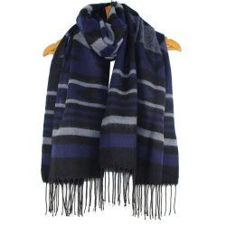 Bufanda de lana de cachemir geométrica con borlas de hombres y mujeres