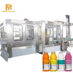 Não automática de refrigerantes Apple / Orange / Abacaxi suco bebidas drinque fábrica de enchimento da máquina para PE / Frasco de HDPE