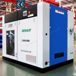 3-10 bar de l'air exempt d'huile électrique de la vis du compresseur pour machine d'emballage sous vide