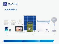 Переносные солнечные домашние системы освещения с 3 Выход постоянного тока 12 В и 2 порта USB Выход 5 В/2A