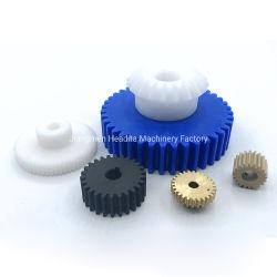 金属の鋼鉄合金ギヤ予備品のために機械で造るプラスチックアルミニウムCNC