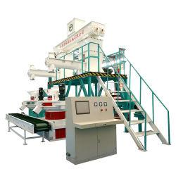 De Houten Korrel die van de hoge Efficiency Machine voor Efb, Luzerne, Kokosnoot, de Schil van de Rijst en Ce van de Palm maken