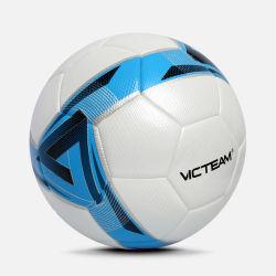 Bal de van uitstekende kwaliteit van het Voetbal van de Gelijke van de Dekking van de Textuur Pu