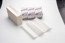 Eco friendly Famosas marcas de tejido Z toallas de mano a mano papel plegado de papel sanitario de China