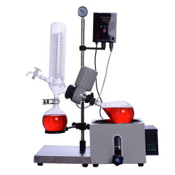 Evaporatore rotativo di distillazione sotto vuoto del laboratorio 5L con il prezzo poco costoso