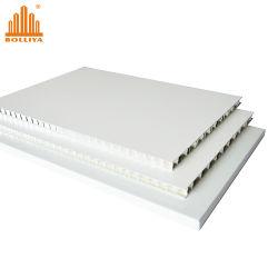 10mm 18mm 25mm en polypropylène plastique léger Pierre en fibre de verre aluminium Aluminium Core Honeycomb Conseil