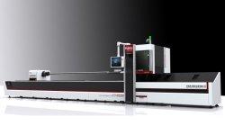 Automatisches Rohr-Gefäß-Winkel-Kanal CNC Laser-Ausschnitt-Maschinen-Gerät der Eingabe-1kw 1.5kw 2kw 3kw