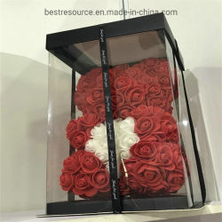 هدية زهرة الورد الدب العروس العروس العروس زهرة العروس لعشاق الحب ديكور زفاف عيد الميلاد