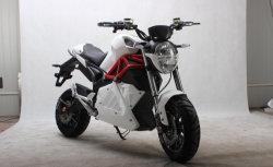 Motocicleta eléctrica de 2000W trasero del motor sin escobillas