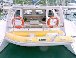 Boote der kleines aufblasbares Fischen-steife Rumpf-Rippen-370 für Yacht-Tender