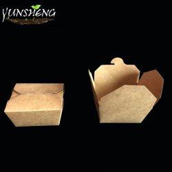 مواد ورقية صندوق الطعام يمكن التخلص منها أدوات المائدة اذهب إلى الحاويات