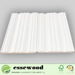 Залить белой деревянной сосны Basebaord / литьевого формования для литьевого формования короны верхнего предела