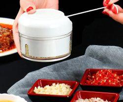 승진 선물 수동 식품 가공기 마늘 단속기, 휴대용 조미료 마늘 Peeler