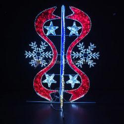 Снежинка и светодиодный индикатор ремня безопасности на тему освещения в преддверии рождественских праздников Стрит украшения