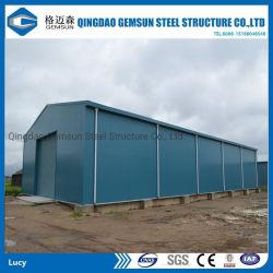 Быстрое строительство простота установки легких стальных структуры здания