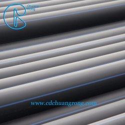 Пластиковый высокого давления PE подземные воды трубопровода