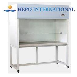 Preço de fábrica de fluxo laminar horizontal e vertical do armário, bancada limpa