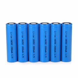 Puissance mobile 18650 3000mAh Batterie lithium-ion rechargeable