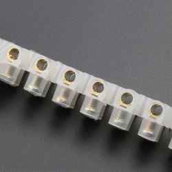 X3シリーズ12位置のPEの電気二重列のコネクターの男性および女性の端子ブロック