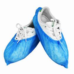 CPE PE desechables de plástico de polipropileno microporoso SMS Nonwoven antideslizantes Antideslizante impermeable Médica/impresión/Hospital/Industria/Cleanroom/Laboratorio/impermeable/Boot/Cubrezapatos