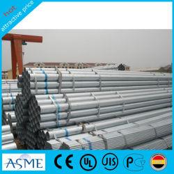 Les matériaux de construction ASTM A53 3mm d'épaisseur du tube en acier galvanisé