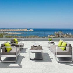 Salotto di alluminio del sofà del modulo del patio spazzolato mobilia del giardino di svago per esterno - Fairy (Ready per spedire)