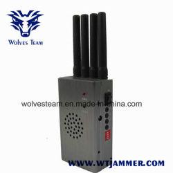 De grijze Draagbare Stoorzender van de Telefoon van Lte van de Hoge Macht 4G Mobiele