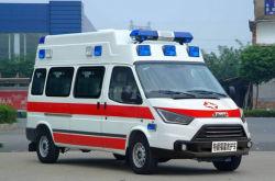 이동식 예방 ICU 구급차(인공호흡기 및 음압 시스템 포함)