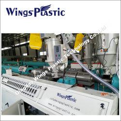 Plastique|PE PP PVC||eau PEHD de fourniture de gaz à double paroi unique de l'irrigation (DWC) câble ondulé|Tube Ligne d'Extrusion|Making Machine Prix du tuyau de l'extrudeuse